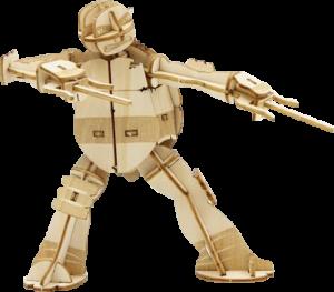 Raphael 3D Wood Model and Recipe Card Model Kit