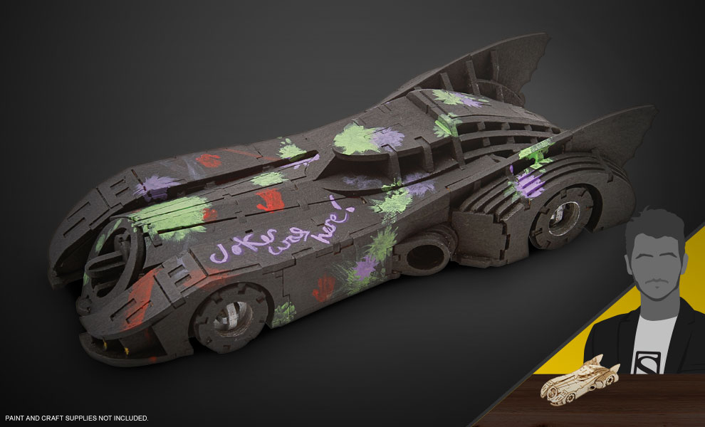 Gallery Feature Image of Batmobile Signature Series Model and Book Model Kit - Click to open image gallery