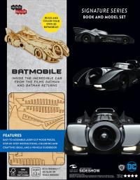 Gallery Image of Batmobile Signature Series Model and Book Model Kit