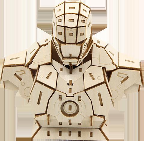 Insight Editions Iron Man Signature Series 3D Wood Model Model Kit