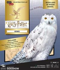 Gallery Image of Hedwig Deluxe Book and Model Model Kit