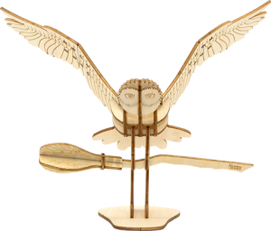 Hedwig Deluxe Book and Model Model Kit