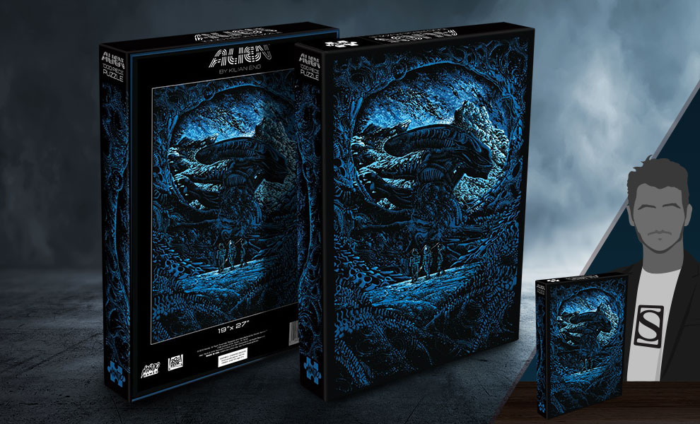 Gallery Feature Image of Alien Puzzle - Click to open image gallery
