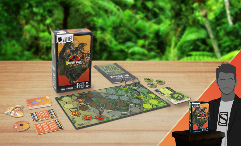 Gallery Feature Image of Unmatched: Jurassic Park - InGen VS Raptors Board Game - Click to open image gallery
