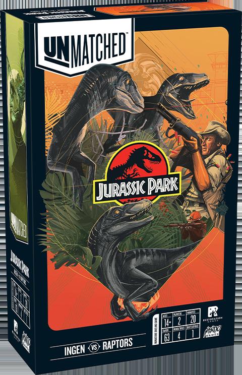 Mondo Unmatched: Jurassic Park - InGen VS Raptors Board Game