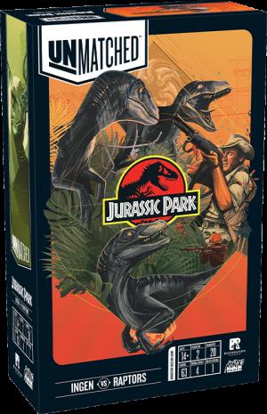 Unmatched: Jurassic Park - InGen VS Raptors Board Game