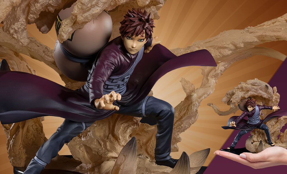 Gallery Feature Image of Gaara (Shippuden Kizuna Relation) Collectible Figure - Click to open image gallery