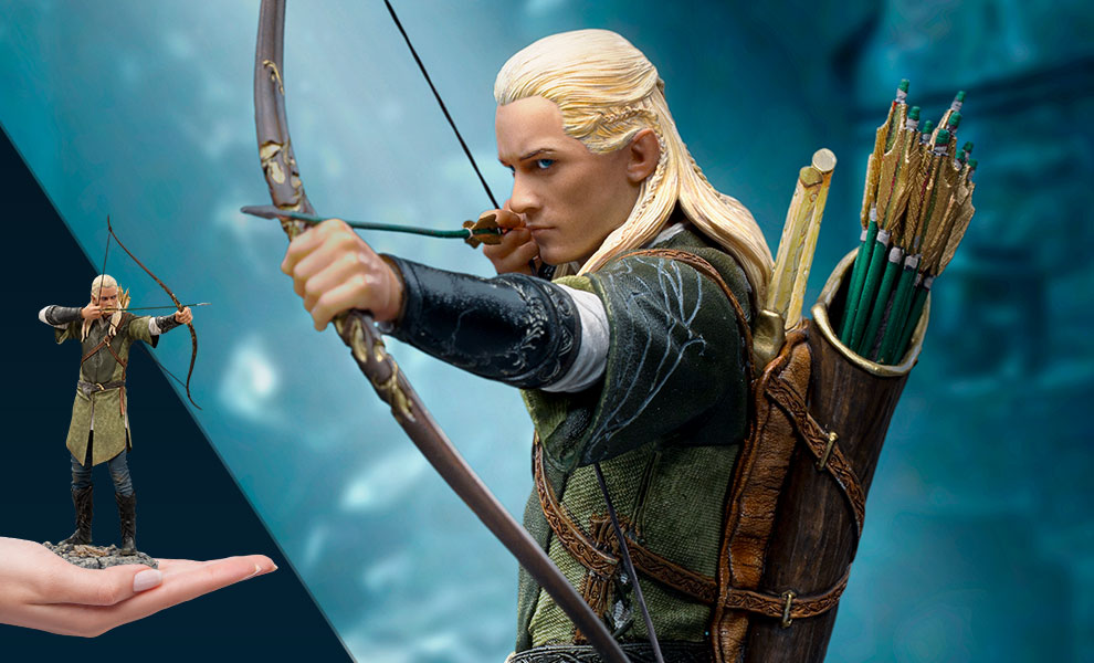 Gallery Feature Image of Legolas 1:10 Scale Statue - Click to open image gallery