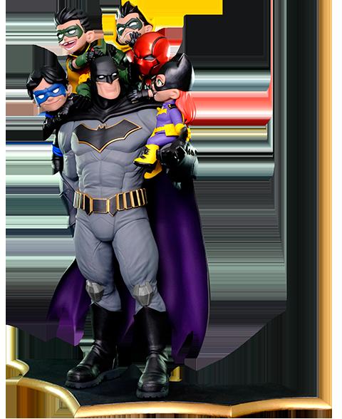 "Quantum Mechanix Batman ""Family"" Q-Master Diorama"