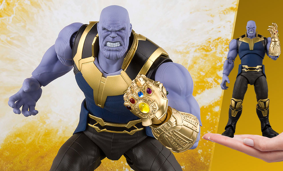 Gallery Feature Image of Thanos Collectible Figure - Click to open image gallery