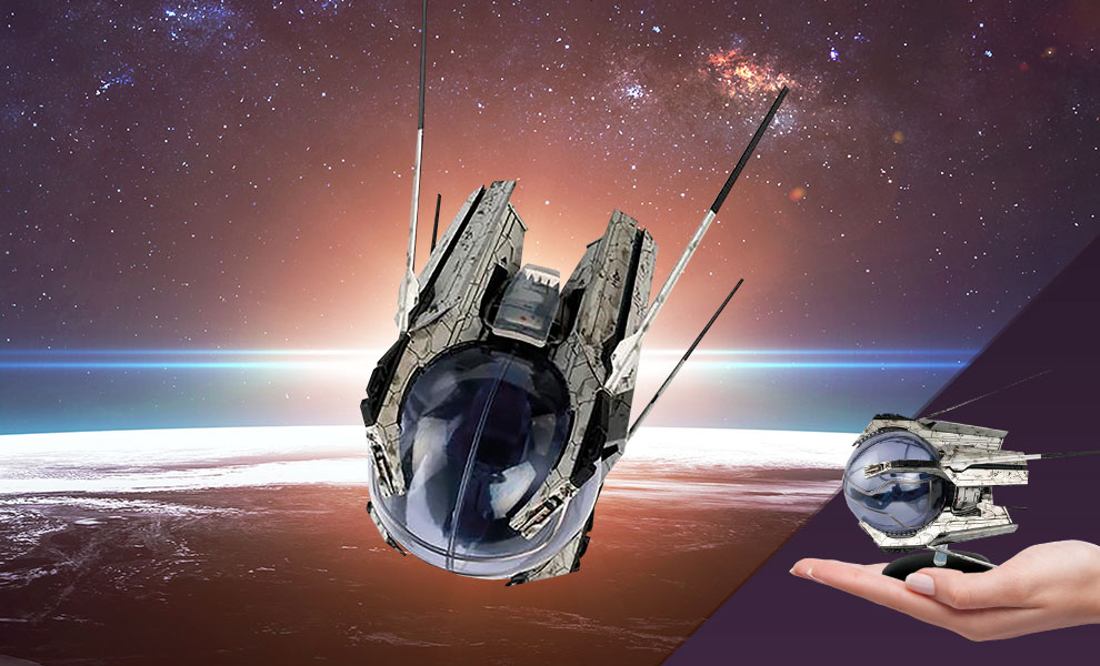 Gallery Feature Image of U.S.S. Discovery Landing Pod Model - Click to open image gallery
