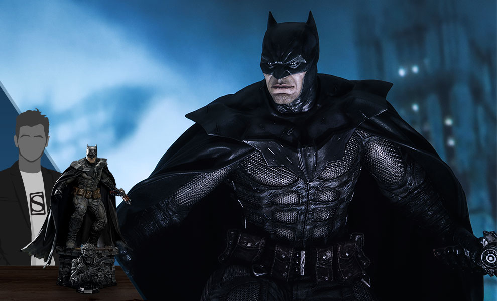 Gallery Feature Image of Batman Damned (Concept Design by Lee Bermejo) Statue - Click to open image gallery