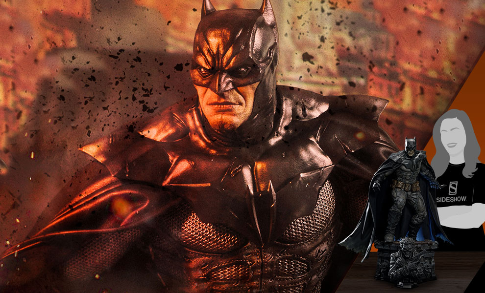 Gallery Feature Image of Batman Damned Deluxe Version (Concept Design by Lee Bermejo) Statue - Click to open image gallery