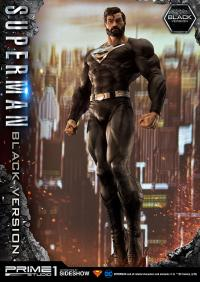 Gallery Image of Superman (Black Version) 1:3 Scale Statue