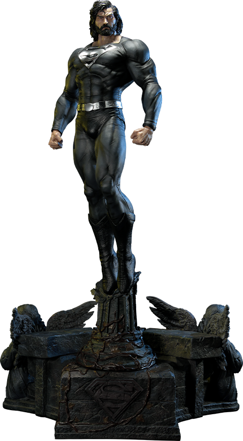 Prime 1 Studio Superman (Black Version) Statue