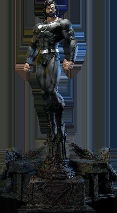 Prime 1 Studio Superman (Black Version) 1:3 Scale Statue