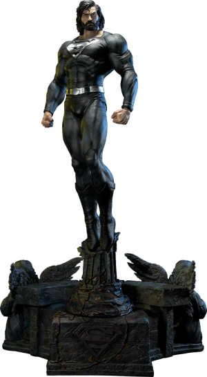 Superman (Black Version) Statue
