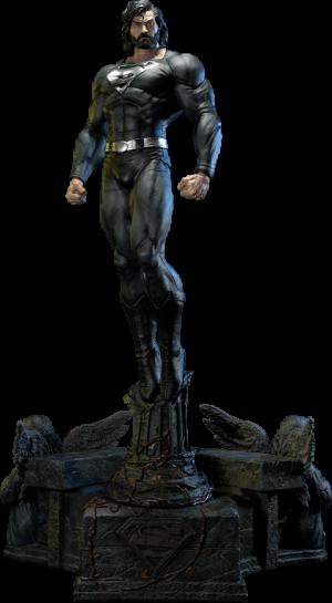 Superman (Black Version) 1:3 Scale Statue