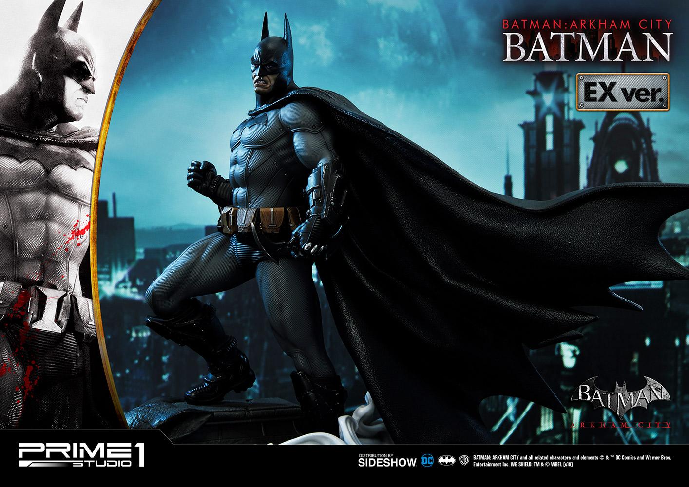 Exclusive Batman Arkham City Statue Sideshow Collectibles