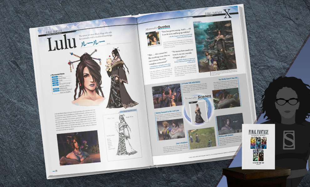 Gallery Feature Image of Final Fantasy Ultimania Archive Volume 3 Book - Click to open image gallery
