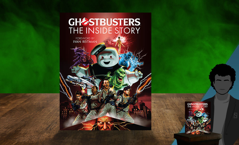 Gallery Feature Image of Ghostbusters: The Inside Story Book - Click to open image gallery