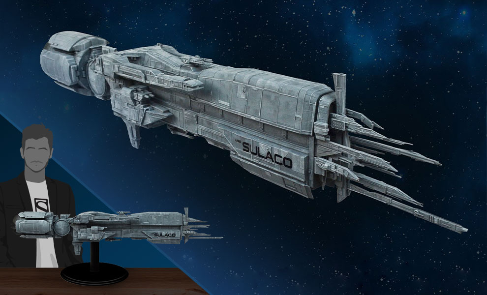 Gallery Feature Image of Aliens USS Sulaco Model - Click to open image gallery