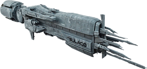 Hollywood Collectibles Group Aliens USS Sulaco Model