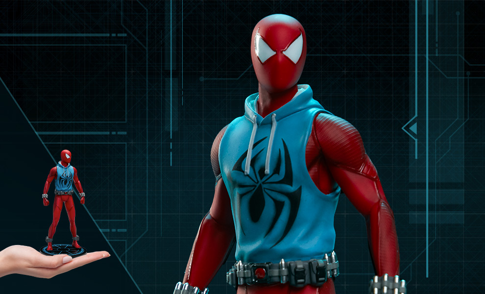 Gallery Feature Image of Marvel's Spider-Man: Scarlet Spider 1:10 Scale Statue - Click to open image gallery
