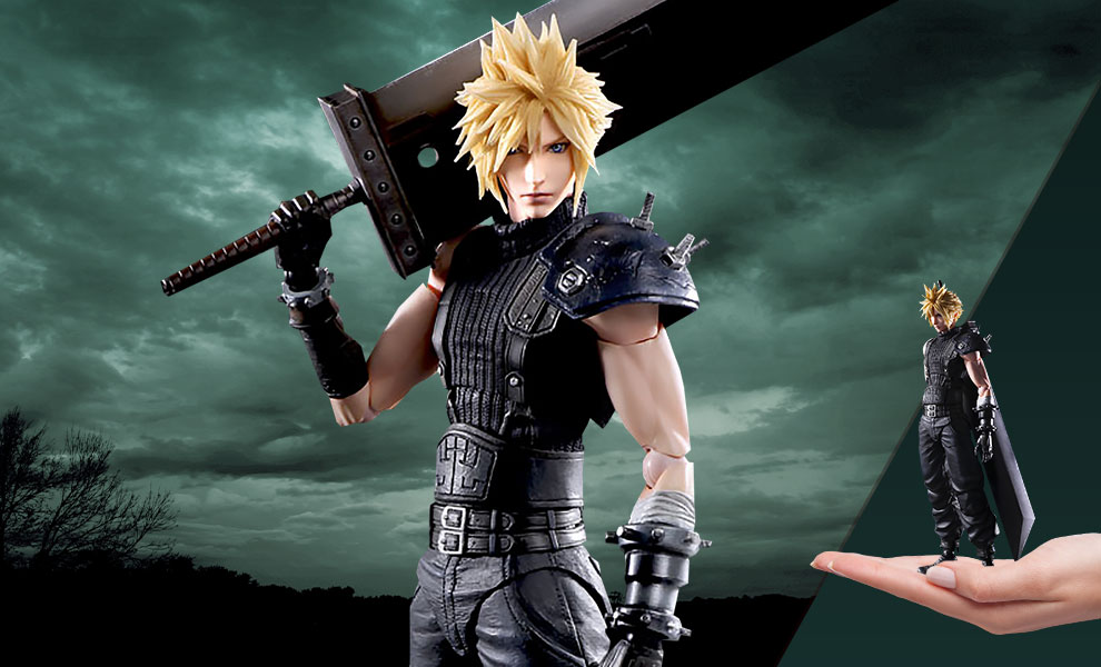 Gallery Feature Image of Cloud Strife (Version 2) Action Figure - Click to open image gallery