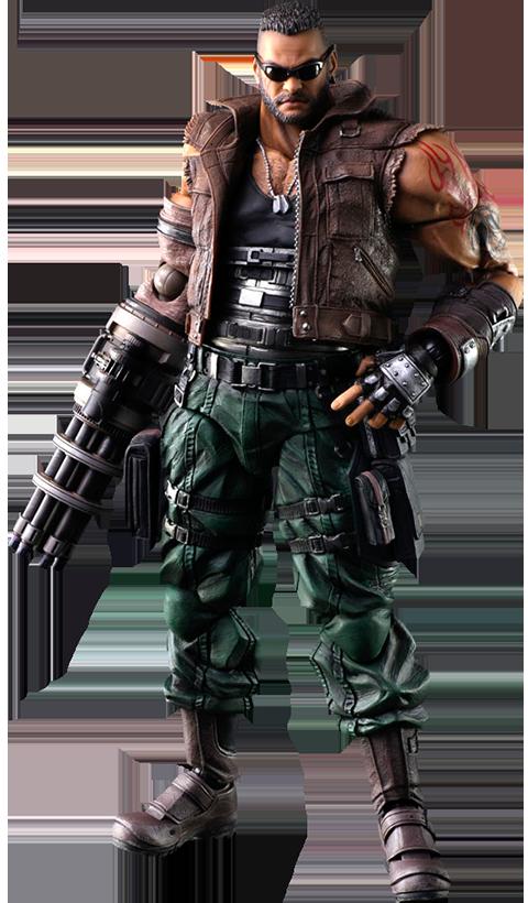 Square Enix Barret Wallace (Version 2) Action Figure