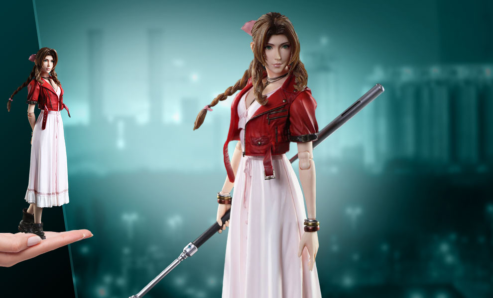 Gallery Feature Image of Aerith Gainsborough Action Figure - Click to open image gallery
