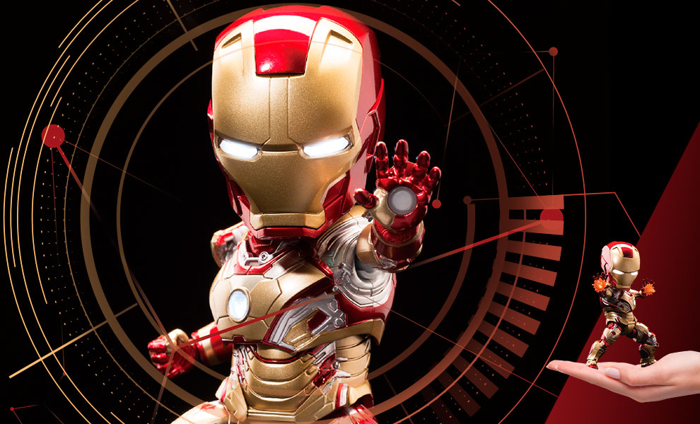 Gallery Feature Image of Iron Man Mark 42 Action Figure - Click to open image gallery