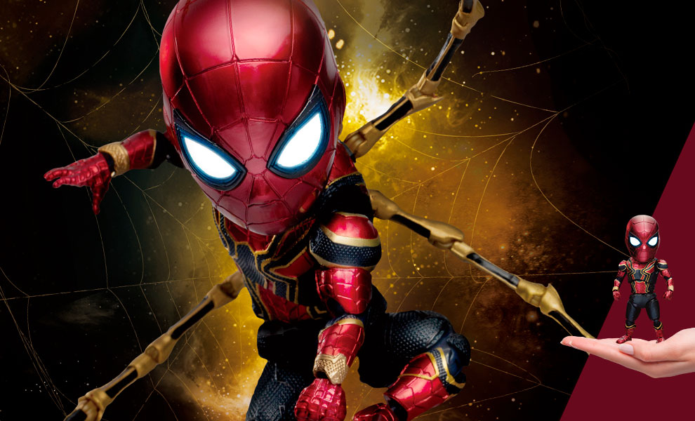 Gallery Feature Image of Iron Spider (Deluxe Version) Action Figure - Click to open image gallery
