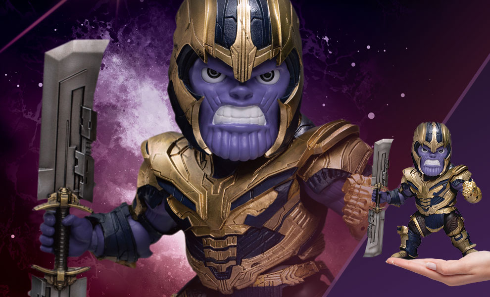 Gallery Feature Image of Armored Thanos Action Figure - Click to open image gallery