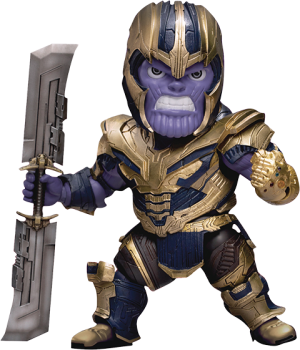 Armored Thanos Action Figure