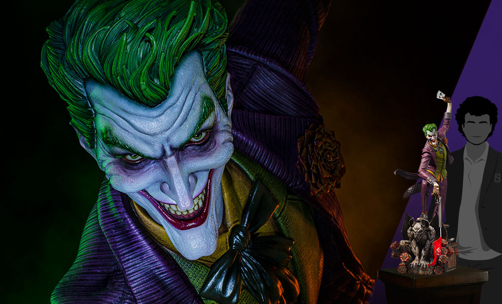 Gallery Feature Image of The Joker 1:3 Scale Statue - Click to open image gallery