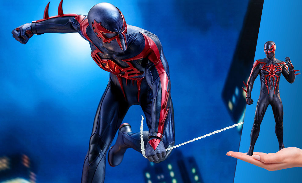 Gallery Feature Image of Spider-Man (Spider-Man 2099 Black Suit) Sixth Scale Figure - Click to open image gallery