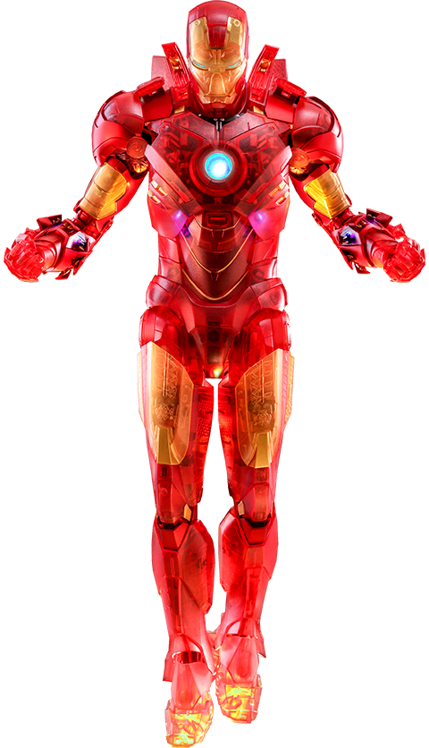 Hot Toys Iron Man Mark IV (Holographic Version) Sixth Scale Figure
