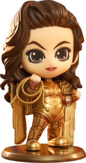 Golden Armor Wonder Woman Collectible Figure