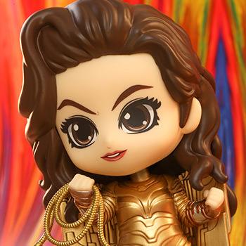 Golden Armor Wonder Woman Collectible Figure