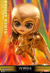 Gallery Image of Golden Armor Wonder Woman (Flying Version) Collectible Figure