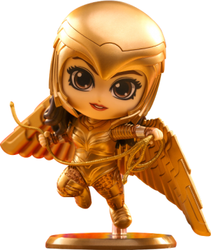 Golden Armor Wonder Woman (Flying Version) Collectible Figure