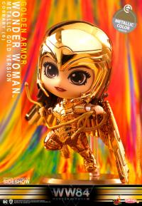 Gallery Image of Golden Armor Wonder Woman (Metallic Gold Version) Collectible Figure