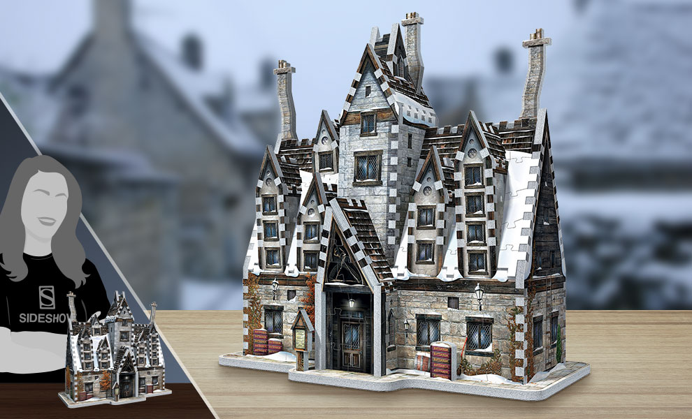 Gallery Feature Image of Hogsmeade - The Three Broomsticks 3D Puzzle Puzzle - Click to open image gallery