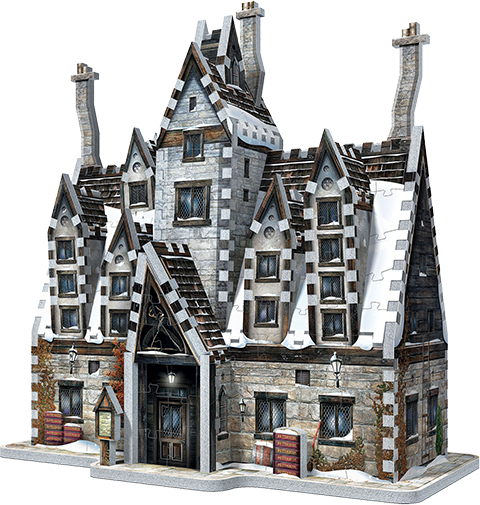 Wrebbit Puzzles Inc. Hogsmeade - The Three Broomsticks 3D Puzzle Puzzle