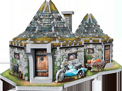 Wrebbit Puzzles Inc. Hagrid's Hut 3D Puzzle Puzzle