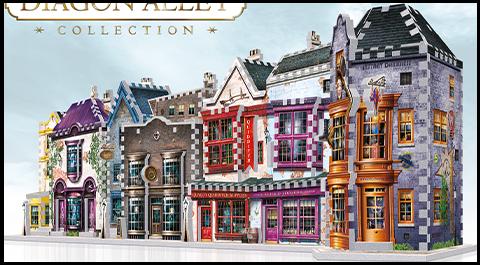 Wrebbit Puzzles Inc. Diagon Alley 3D Puzzle Set Puzzle