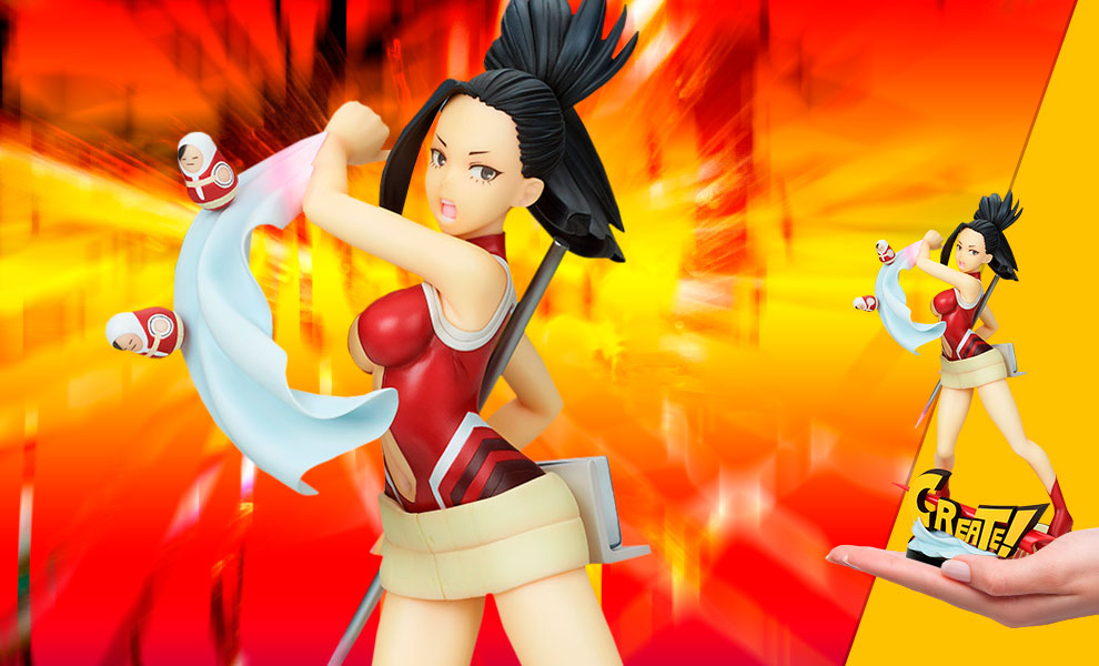 Gallery Feature Image of Momo Yaoyorozu Hero Suit Version Collectible Figure - Click to open image gallery