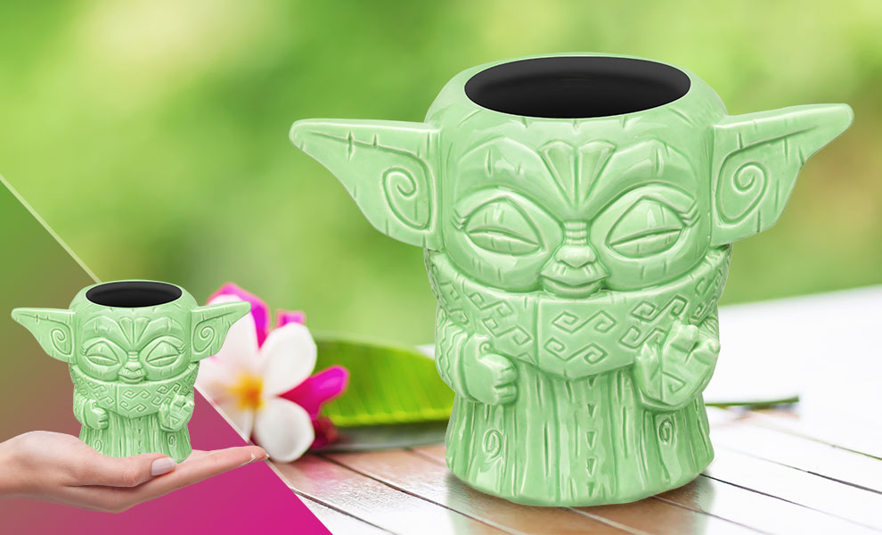Gallery Feature Image of The Child (Force Pose) Tiki Mug - Click to open image gallery