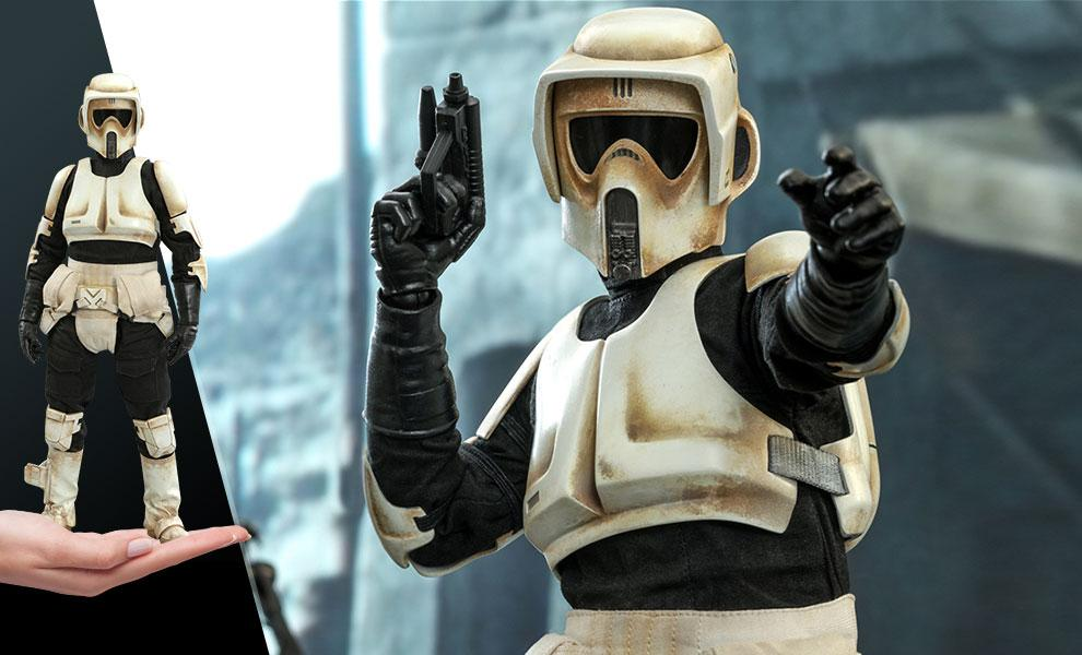 NOW SHIPPING Scout Trooper Sixth Scale Figure by Hot Toys
